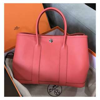 Authentic Hermes Garden Party 30 Rose Jaipur