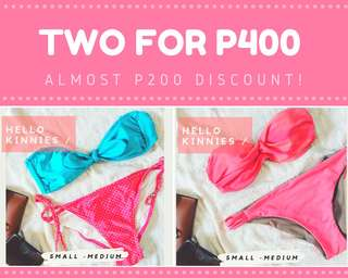 Buy 1 Take 1 swimmies! ❤