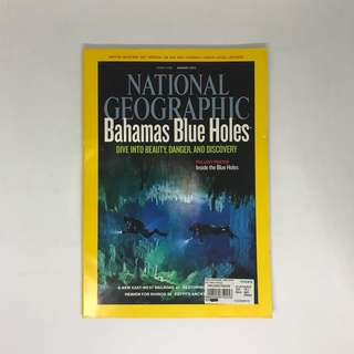Bahamas Blue Holes | National Geographic | Issue August 2010