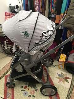 Santa barbara polo stroller