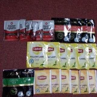 紐澳品牌即沖咖啡和茶包15包