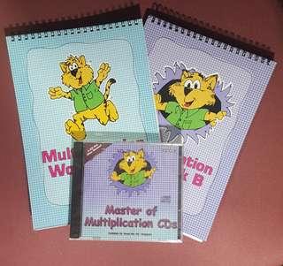 Shichida Multiplication Workbook