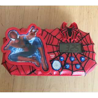 Spider Man alarm clock
