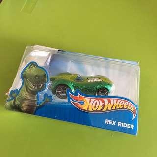 [BN] Hot Wheels Toy Story Disney Car (Rex Rider)