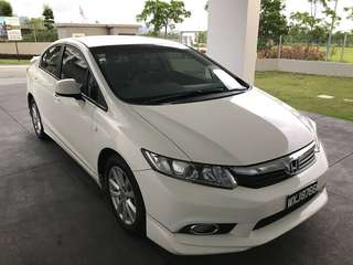 Honda Civic FB 1.8 1 owner full honda service recod