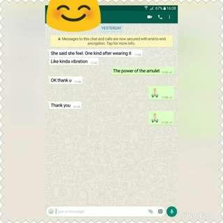 Customer feedback (: