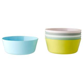 IKEA KALAS Bowl, mixed colours assorted colours