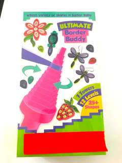 Big Paper Craft Quilling Border Buddy blue pink