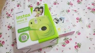 Fujifilm Instax Mini 9 Instant Camera Green