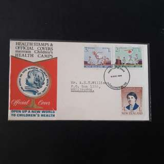 New Zealand 1969 First Day Cover