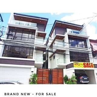 BRAND NEW QUEZON CITY TOWNHOUSES FOR SALE