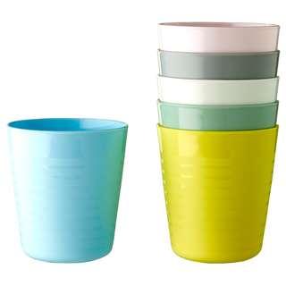 IKEA KALAS Mug, mixed colours assorted colours