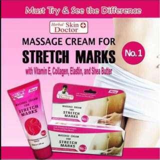 Herbal skin doctor massage cream for stretch marks