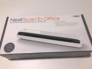 Neatscan to Office portable scanner