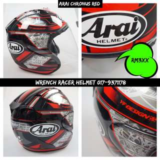 Arai Sz-Ram4 Chronus [Red]