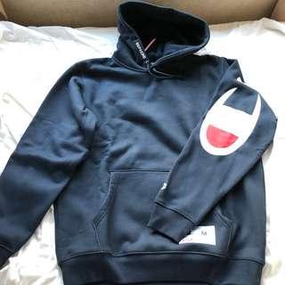 Supreme x Champion hooded sweatshirt 100% new