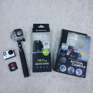 Full Set 4K Ultra HD Action Camera