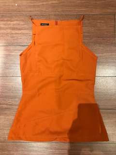 berry benka top orange