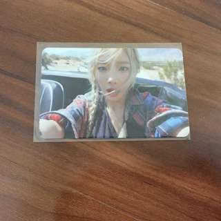WTS Taeyeon 'Why' Photocard