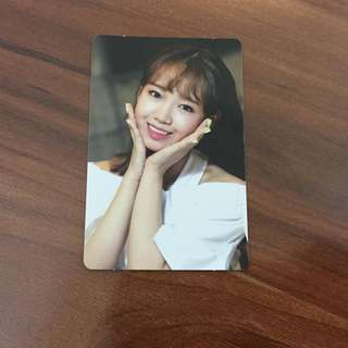 WTS Weki Meki Limited Edition Yoojung Photocard