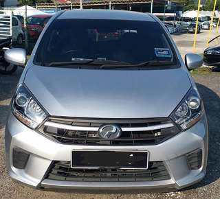 SAMBUNG BAYAR/CONTINUE LOAN  PERODUA AXIA 1.0 AUTO YEAR 2017 MONTHLY RM 520 BALANCE 8 YEARS ROADTAX VALID TIPTOP CONDITION  DP KLIK wasap.my/60133524312/axia