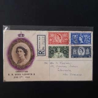 Coronation  H.M Queen Elizabeth  II 1953