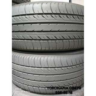 225-55-18 YOKOHAMA DBE70 4條 車呔仔 (二手呔專門店)