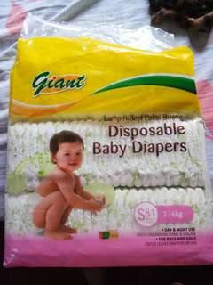 Diaper gaint size S