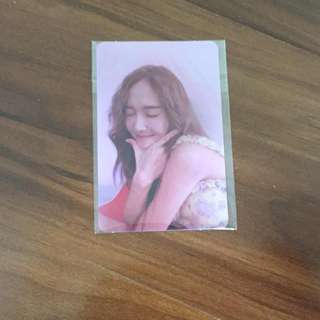 WTS Jessica 'My Decade' Photocard