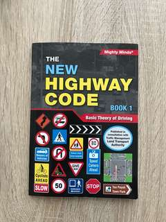 Basic Theory Test (BTT) New Highway Code Book 1