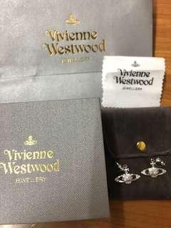 Vivienne Westwood 經典耳環❤️ 閃閃亮亮🤩 女朋友禮物全套包裝保真 手鏈頸鏈鍊 手飾送禮