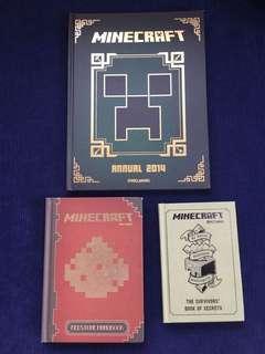 Minecraft hardbound books