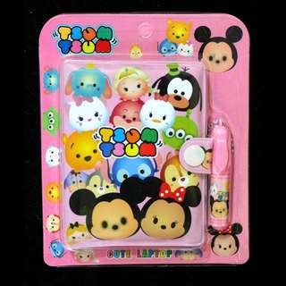 TSUM TSUM NOTEPAD with PEN