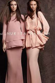 Scilla set in salmon nude (nh by nurita Harith)