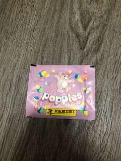 Vintage Popples Panini Sticker Packs