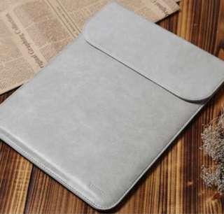 Korea PU Leather Ultra Slim MacBook Laptop Sleeve