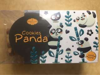 Sweets talk panda cookies
