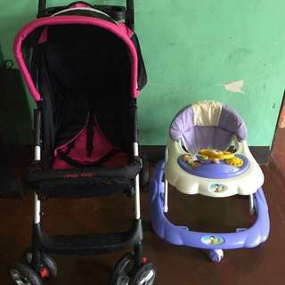 Stroller and Walker Package ( REPRICED!!! )
