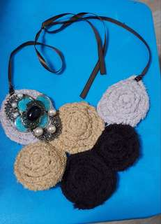Preloved bib necklace