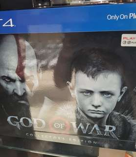 PS4 God of war collector edition