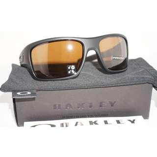 *Oakley New Sunglasses TURBINE Matte Black Prizm Tungsten Polarized OO9263-4063*