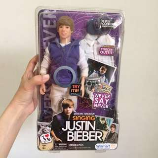 Justin bieber never say never barbie doll import USA