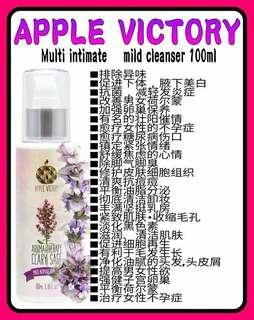 Apple Victory Aromatherapy Clary SAGE Feminine Intimate Wash