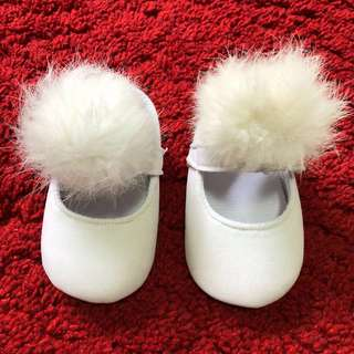 Baby White Mary Jane Shoes