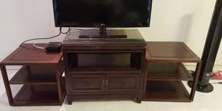 Rosewood Tv rack