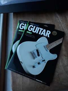 Rockschool Guitar Grade 2 and 3 book