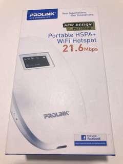 Prolink portable hspa+ WiFi hotspot 31.6mbps
