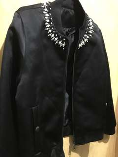 Givenchy Black bomber jacket