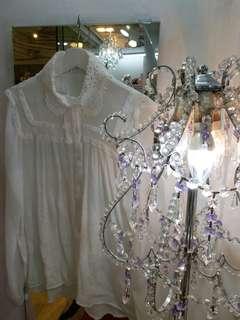 韓國白色衫