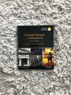 Financial Markets & Institutions - UOL PBF